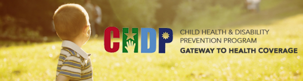 CHDP banner with logo